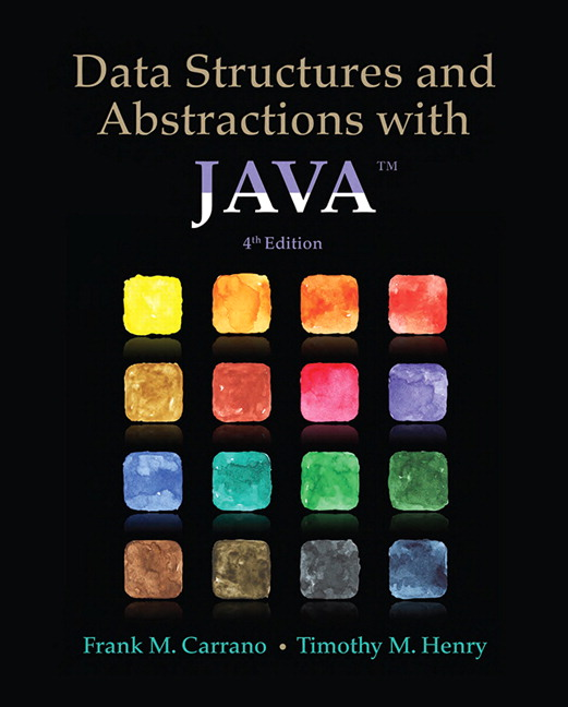 data structures and abstractions with java solutions manual pdf