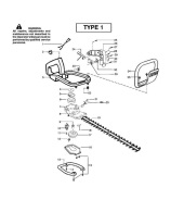 mcculloch hedge trimmer parts manual