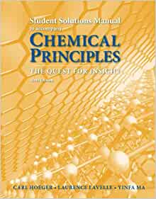 chemical principles student solutions manual 6th revised ed edition pdf