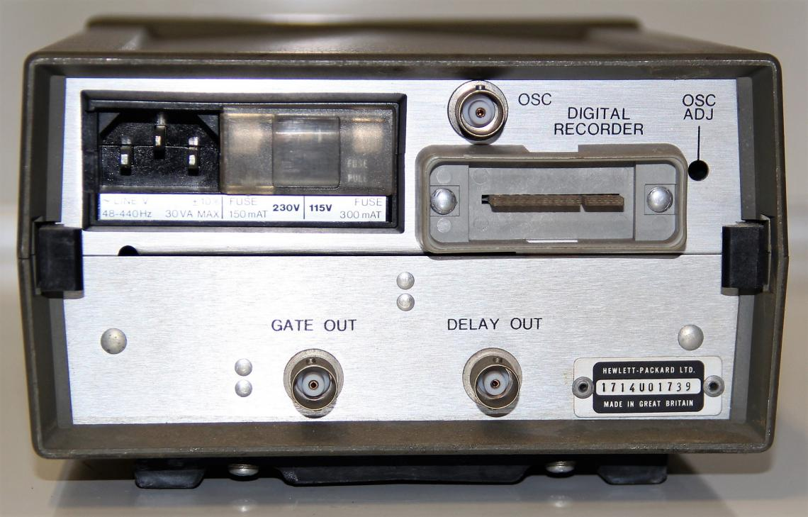 hp 5300a measuring system manual