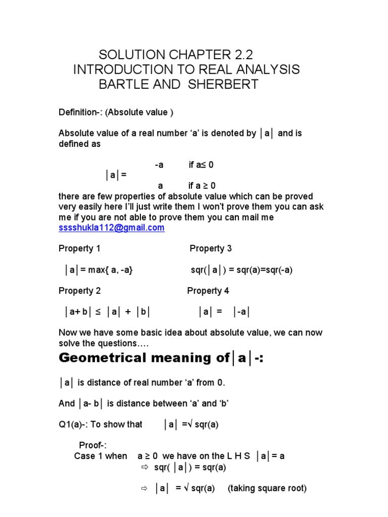 elements of real analysis bartle solutions manual download