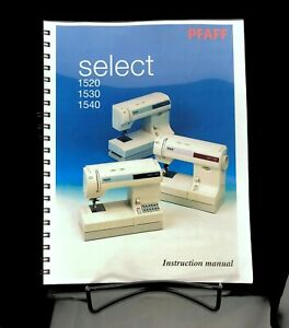 phaff 1530 sweing machine operation and parts manual 1530