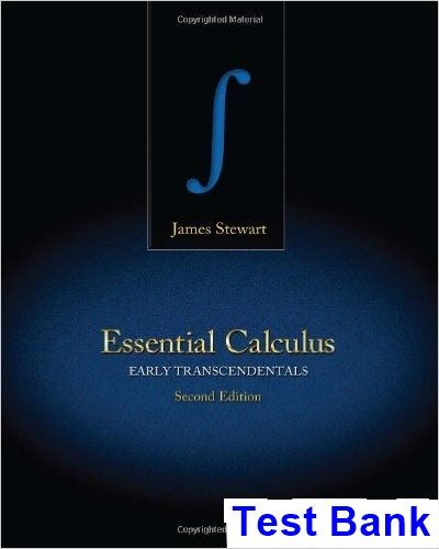 essential calculus 2nd edition solutions manual