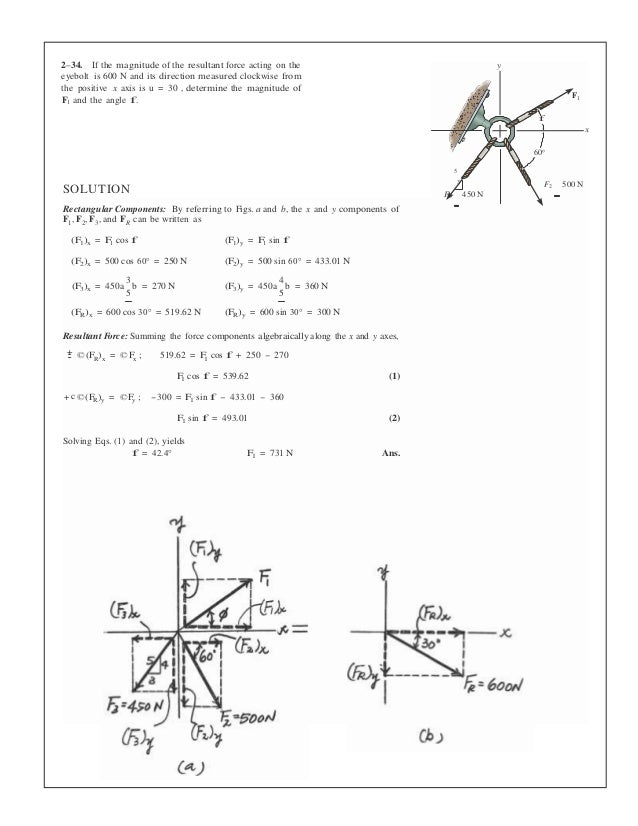 statics and mechanics of materials 4th edition solutions manual