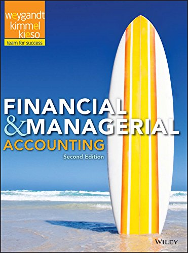 weygandt kimmel kieso managerial accounting 5th edition solution manual